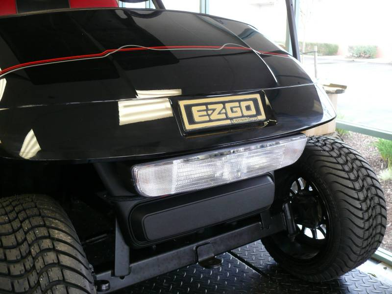 e-z-go - light kit fleet to pvt  part   607550